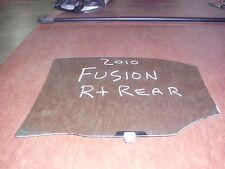 FORD FUSION OEM RIGHT REAR DOOR WINDOW/GLASS  6E5Z5425712A