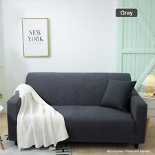 Polyester Elastic Stretch Sofa Covers Slipcover Protector Settee 1/2/3/4 Seater