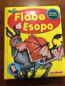 Fiabe Esopo Joybook Bambini 2006 Libro cartone