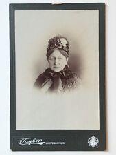 Large Victorian Carte De Visite CDV Cabinet Photo  - A H Taylor - Liverpool