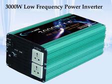 DE~3000W LF Pure Sine Wave 12VDC/230VAC 50HZ Power Inverter Converter Power Tool