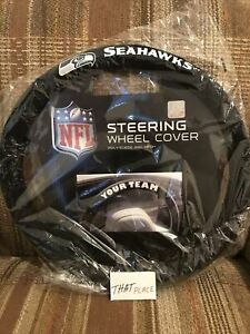 Seattle Seahawks Steering Wheel Cover