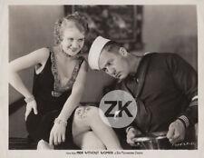 MEN WITHOUT WOMEN Leg TATOUAGE Jambe MARIN Pin-up John FORD Photo 1930