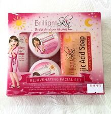 NEW BRILLIANT SKIN ESSENTIALS REJUVENATING FACIAL SET SHIPPING WORLDWIDE