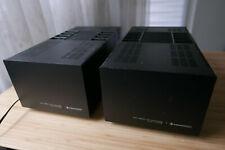 Paar Kenwood Trio L-07 MII High Speed DC Amplifier Monoblocken Leistungsendstufe