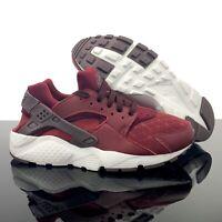 NEW Nike Huarache Run TU Shoes Red/Burgundy Youth 7Y or Womens 8.5 - AV3228-600