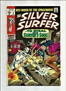 Silver Surfer #9 (VF+)~ 8.5 Marvel 1969 LOOK