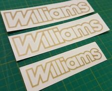 Renault Clio Williams 2.0 reemplazo DECAL STICKER Gráficos fase 1 & 2