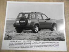 Foto Fotografie photo photograph HONDA CR-V Utility Vehicle 1997 SR118