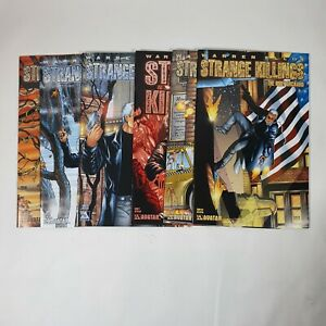 Strange Killings Body Orchard Issue 1 2 3 4 5 6 Avatar Comics Warren Ellis Set