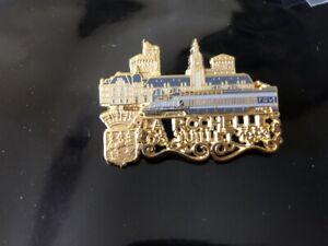 pin's prestige bazille ballard collection TGV train gare la rochelle 1200ex 228