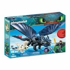 PLAYMOBIL Hiccup and Toothless with Baby Dragon - Dragons 70037