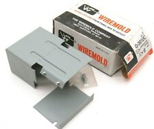 Wiremold G-3010C Entrance End Fitting, Gray