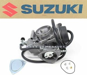 New Genuine Suzuki OEM Carburetor 03 04 LTZ400 Quadsport LT-Z400 Carb #X142