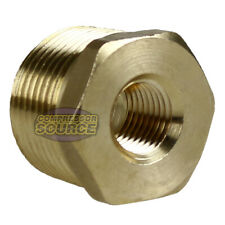 34 Male X 14 Female Npt Hex Bushing Adapter Pipe Reducer Brass Fitting 110jc