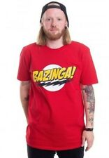 Big Bang Theory - Bazinga T Shirt Red Large