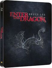 Enter The Dragon Bruce Lee Steelbook Limited Edition Blu-ray NEW! Region Free