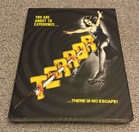 TERROR w/Limited OOP SLIPCOVER 1978 Blu-Ray VINEGAR SYNDROME NORMAN J WARREN NEW