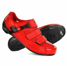 Shoes Racing Bicycle Shimano RP3 Red Road Bike Shoes SPD Sl 42-44-46