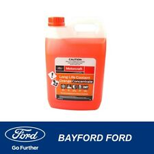 COOLANT 5L BOTTLE ORANGE ANTI/ FREEZE & BOIL LONG LIFE CONCENTRATE GENUINE FORD