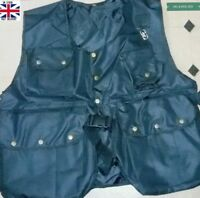 New Falconry and Hunting Waistcoat, Full Vest (XXL & XXXL) (Dull Black Colour)