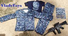 Bandit Joe 1/6 Scale US Navy Uniform Set - Version B  with M4