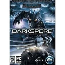 Darkspore PC Game Limited Edition DVD ROM Computer Software and