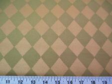 Discount Fabric Robert Allen Upholstery Drapery Jesters Cloth Aloe Diamond EE210