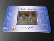 Timbre France autoadhésif neuf 2010 Yvert n° 430 Lux argent Le footbal SUP
