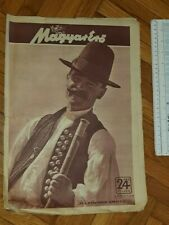 New listing 1943 WWII HUNGARY ARMY MAGAZINE NEWSPAPERS MAGYAR ERO PEASANT SICILY ARGENTINA