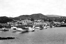 Vdu-99 Unknown US Navy Flying Boats At Fayal, Azores. Photo