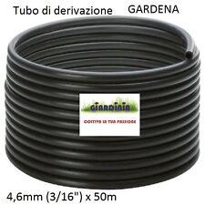 "TUBO DI DERIVAZIONE GARDENA DA 4,6mm (3/16"") x 50mt Art. 1348-20"