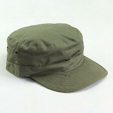 Classic Black Plain Hat Cadet Combat Field Military Caps Style Patrol Baseball