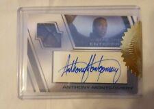 Star Trek Enterprise Archives 2: Autograph / Auto Relic Card Anthony Montgomery