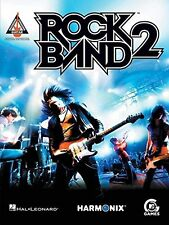 """""""ROCK BAND 2"""" RECORDED GUITAR VERSIONS W/TAB MUSIC BOOK BRAND NEW ON SALE-RARE!!"""