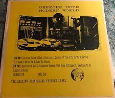 "Depeche Mode Modern World Rare Live Show Recordings 12"" Vinyl Germany 25/05/1985"
