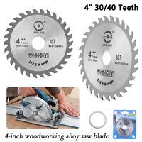 "1pc New 4"" Grinder Ultra Saw Disc Circular Sawing Blade Wood Cutting Round"