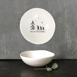 East of India Small Hedgerow Bowl 'Merry Christmas'