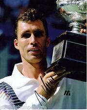 """Ivan Lendl Colour 10""""x 8"""" Signed Tennis Photo - UACC RD223"""