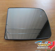 2011-2015 Dodge Ram Right Side View Tow Mirror Heated Replacement Glass New OEM