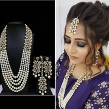 Indian Fashion Necklace Set Gold Plated Wedding Bridal Designer New Jewelry