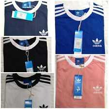 Adidas Originals Retro California Mangas Cortas Escote Redondo Camiseta para hombre de diseñador