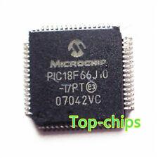 (1PCS) PIC18F66J10-I/PT IC PIC MCU FLASH 32KX16 64TQFP PIC18F66J10-I 18F66 PIC18