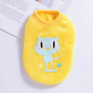 Teacup Chihuahua Puppy Sweater Coat Clothes For Pet Dog Cat Warm Clothing XXXS