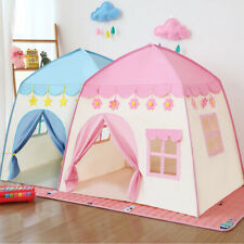 Children Kids Castle Fantasy Playhouse Princess Girls Boys Play Tent Indoor/Out