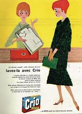 B- Publicité Advertising 1958 La Lessive Crio par Camps