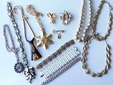 lot of vintage crown TRIFARI jewelry NECKLACES BRACELETS retro wholesale