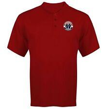 NBA WASHINGTON WIZARDS Red Birdseye Poly Polo Shirt B&T 270690RM