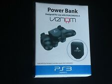 Venom Sony PlayStation 3 PS3 Official Rechargeable Battery Power Bank New Sealed
