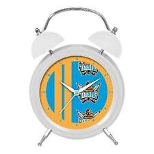 Gold Coast Titans NRL Twin Bell Clock Money Box With Light
